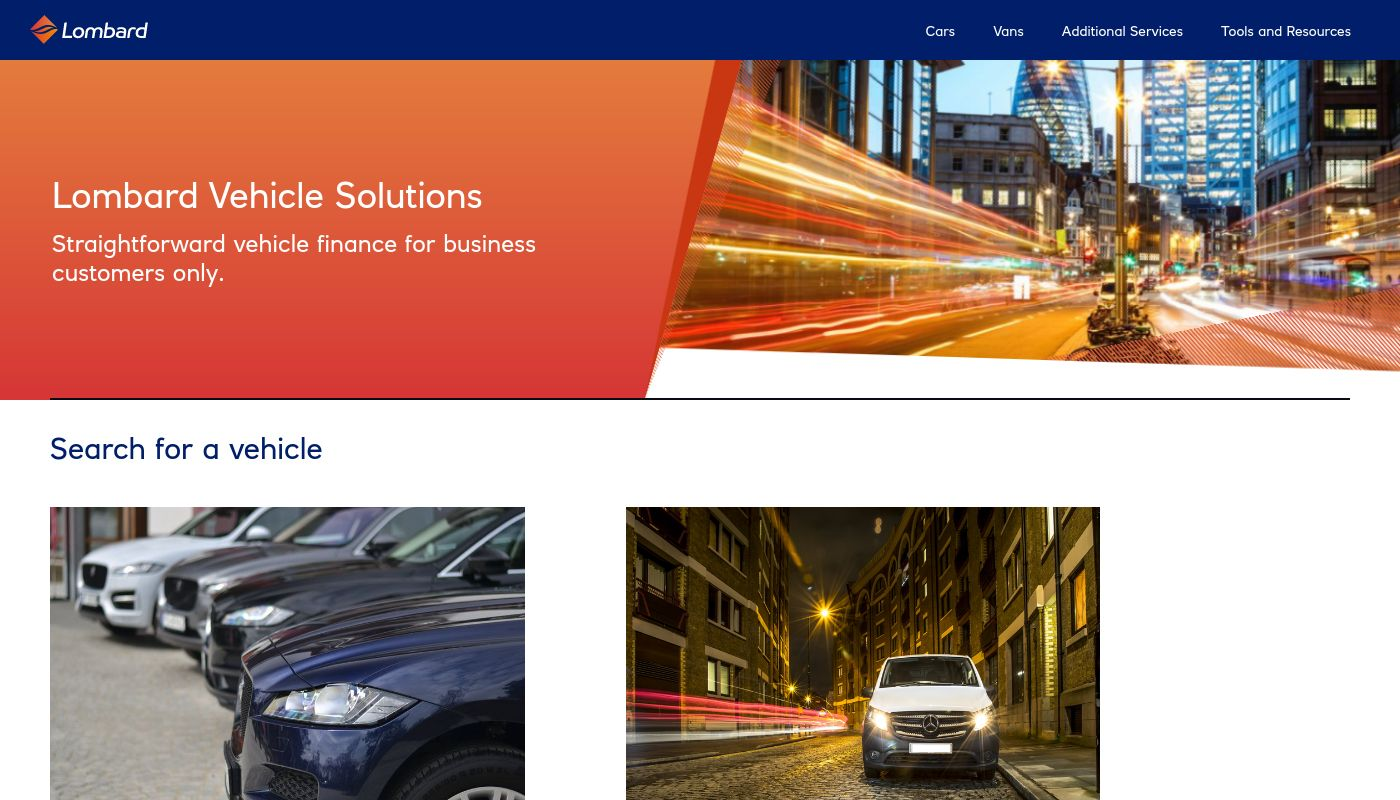 86) Lombard Vehicle Solutions
