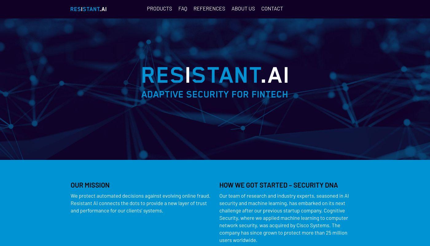 8) Resistant AI