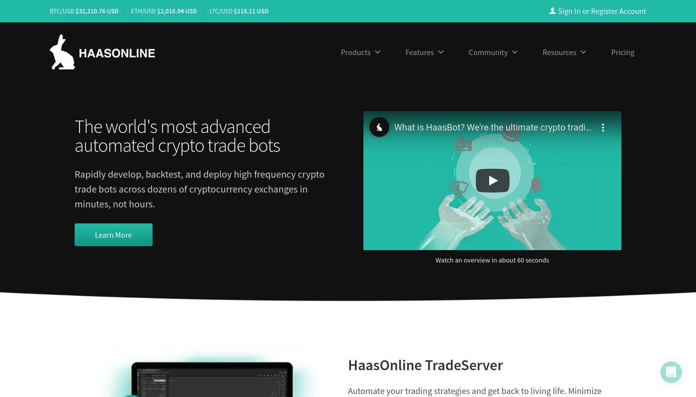 255) HaasOnline Software