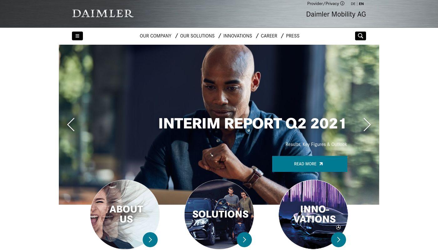 39) Daimler Financial Services