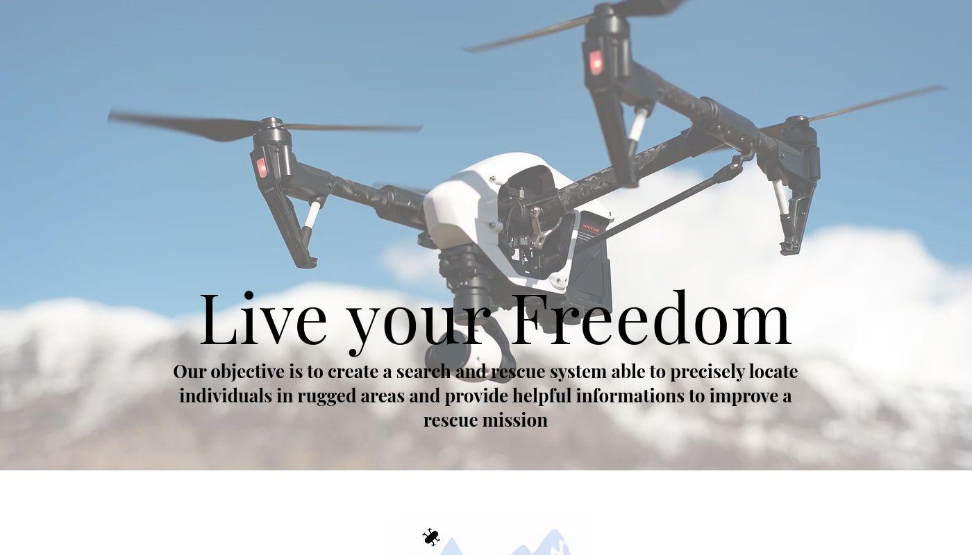 77) LYF Rescue Drone