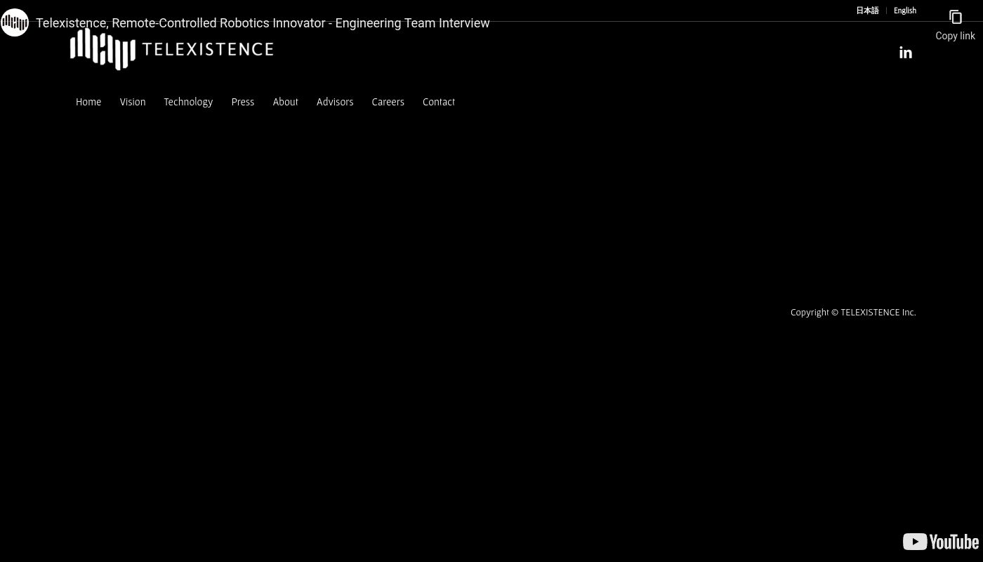 53) TELEXISTENCE Inc.