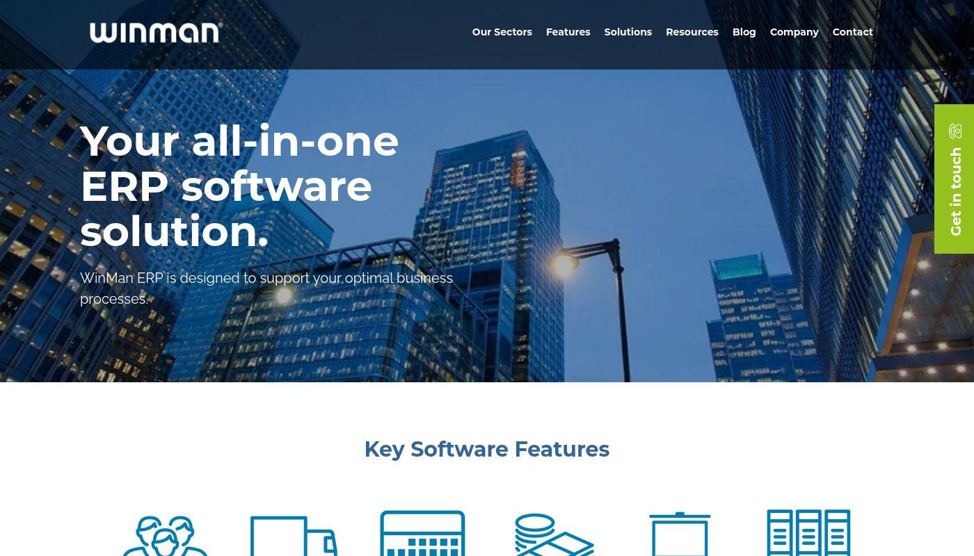 66) WinMan ERP Software