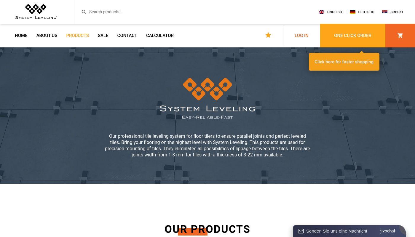 57) Tile Leveling System