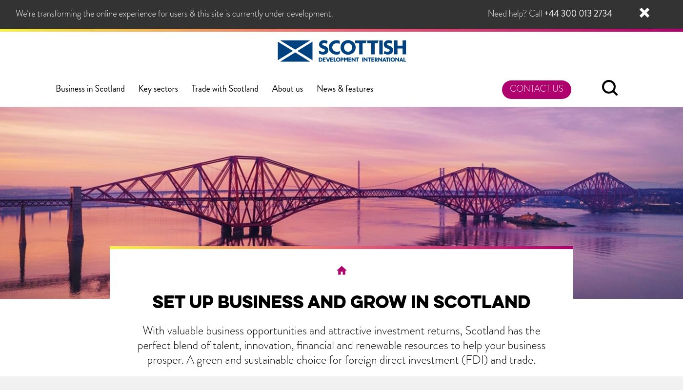 157) Scottish Development International