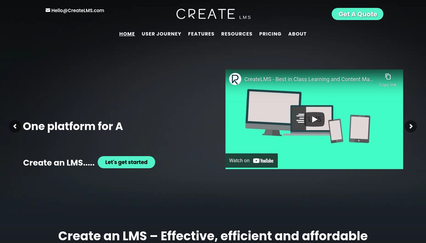 154) Create LMS