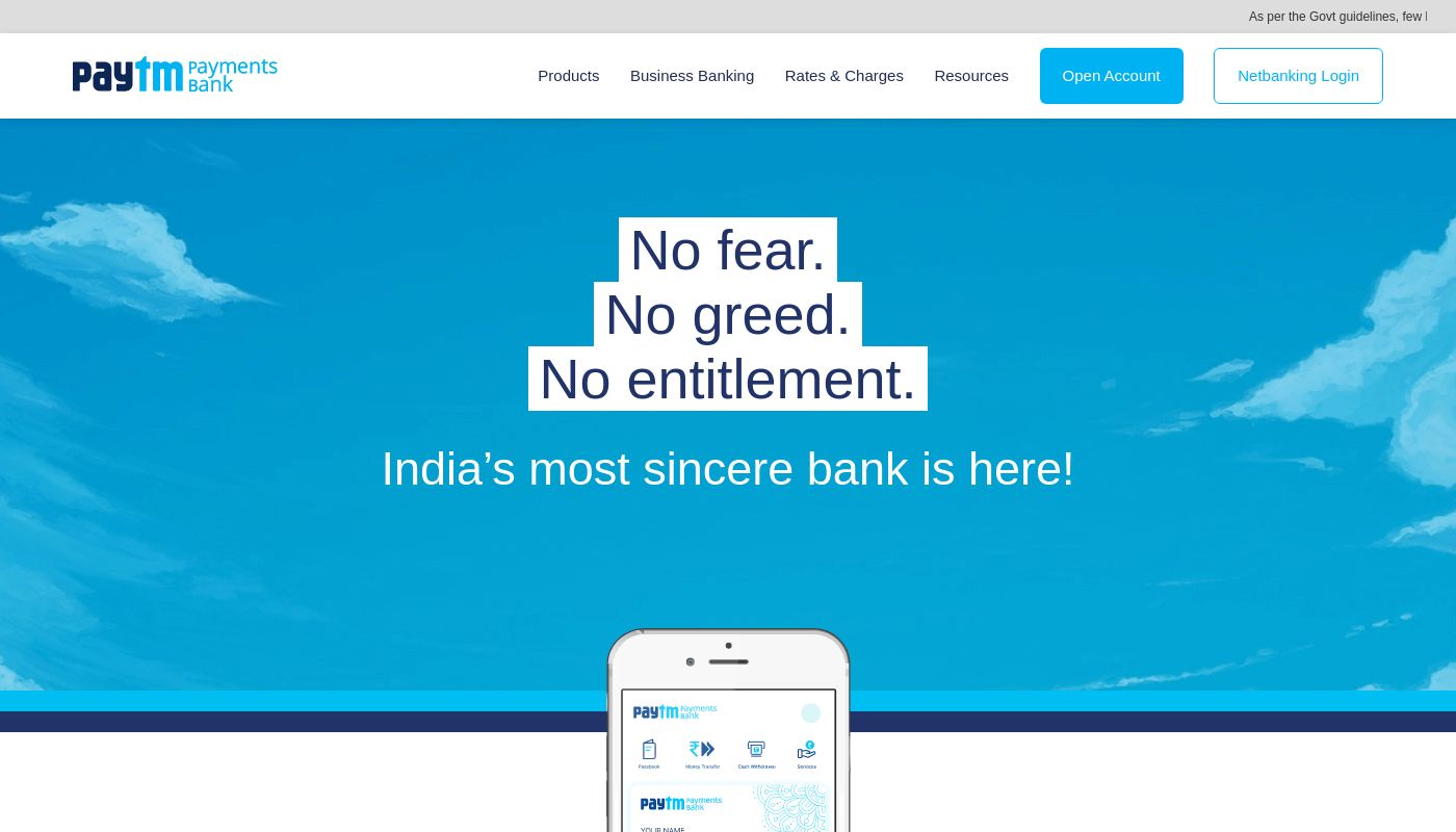 97) Paytm Payments Bank