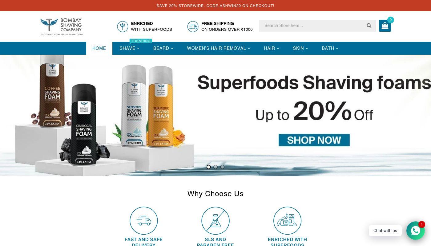 15) Bombay Shaving Company