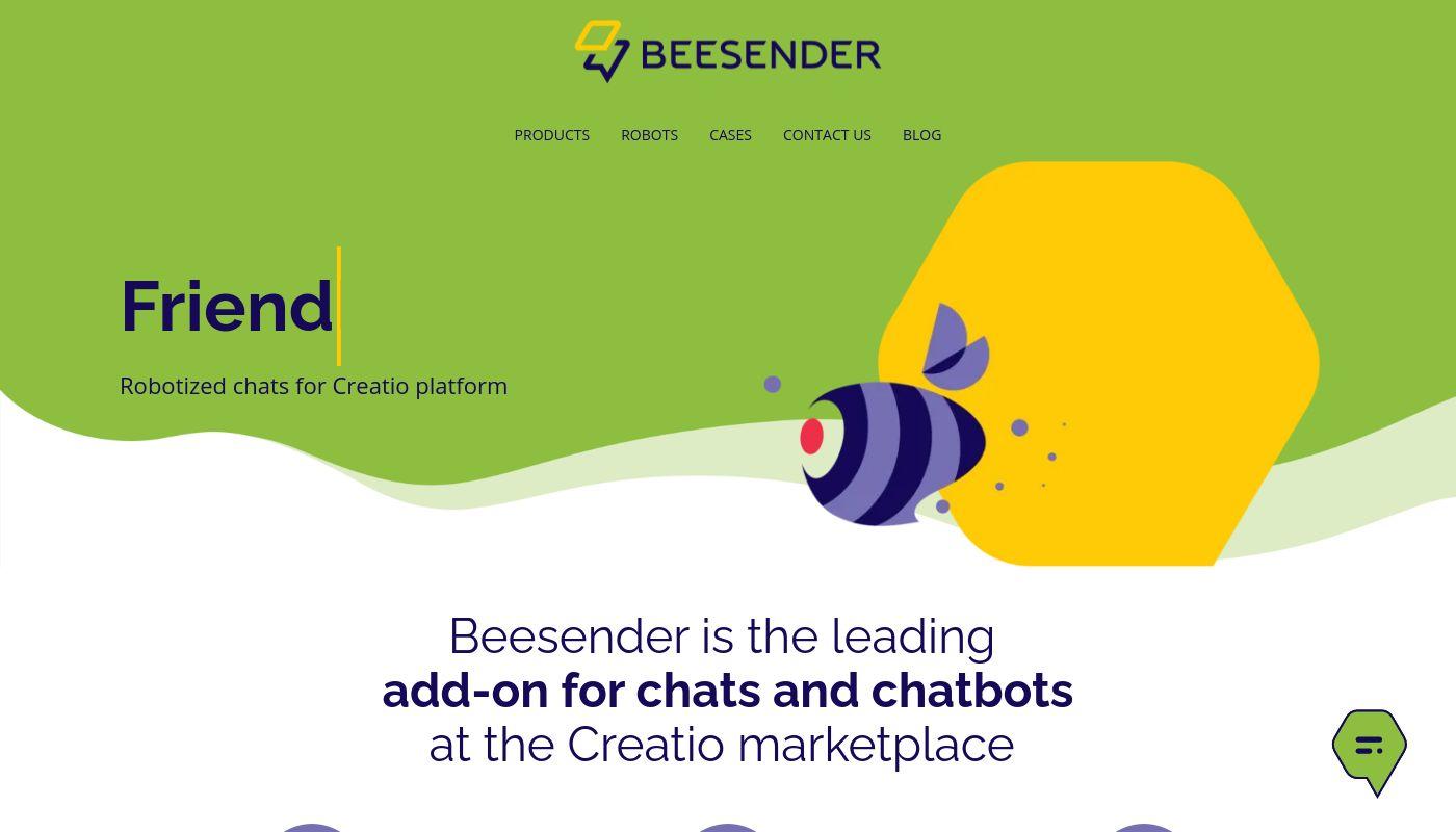 46) Beesender