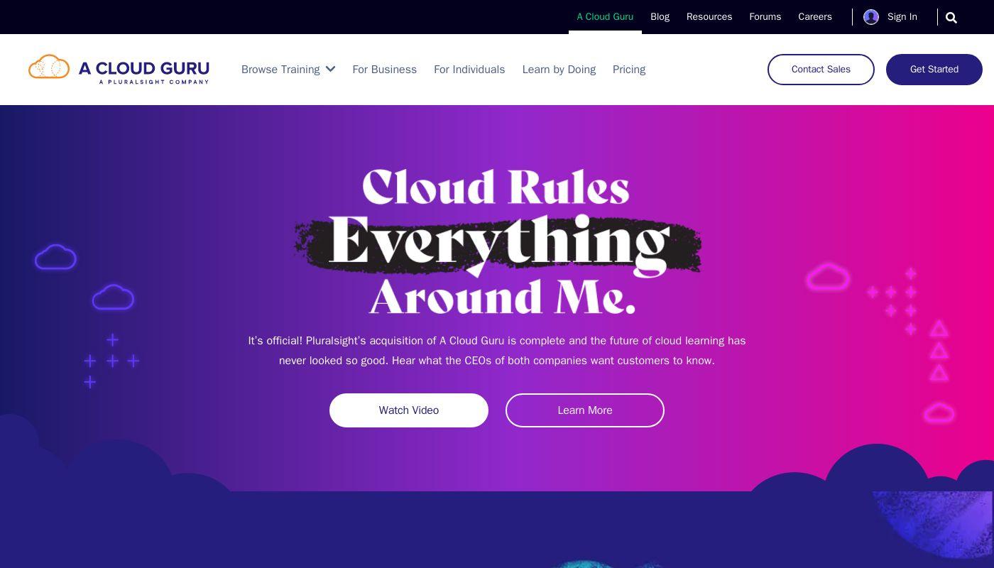 22) A Cloud Guru