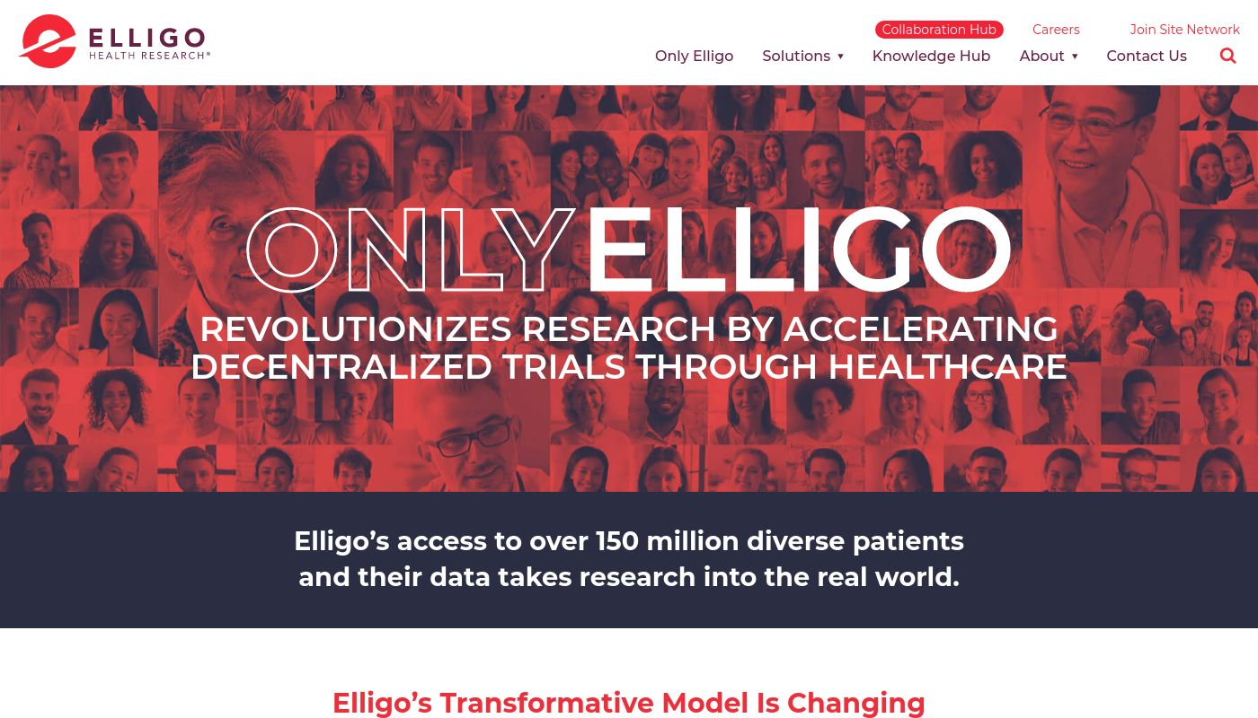 161) Elligo Health Research
