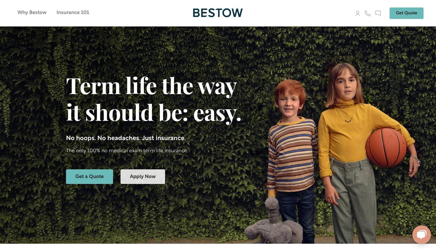 4) Bestow