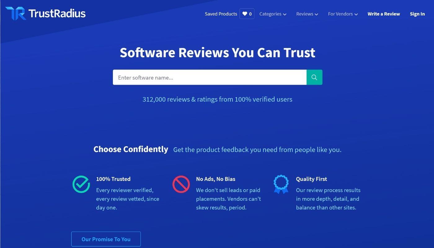 40) TrustRadius