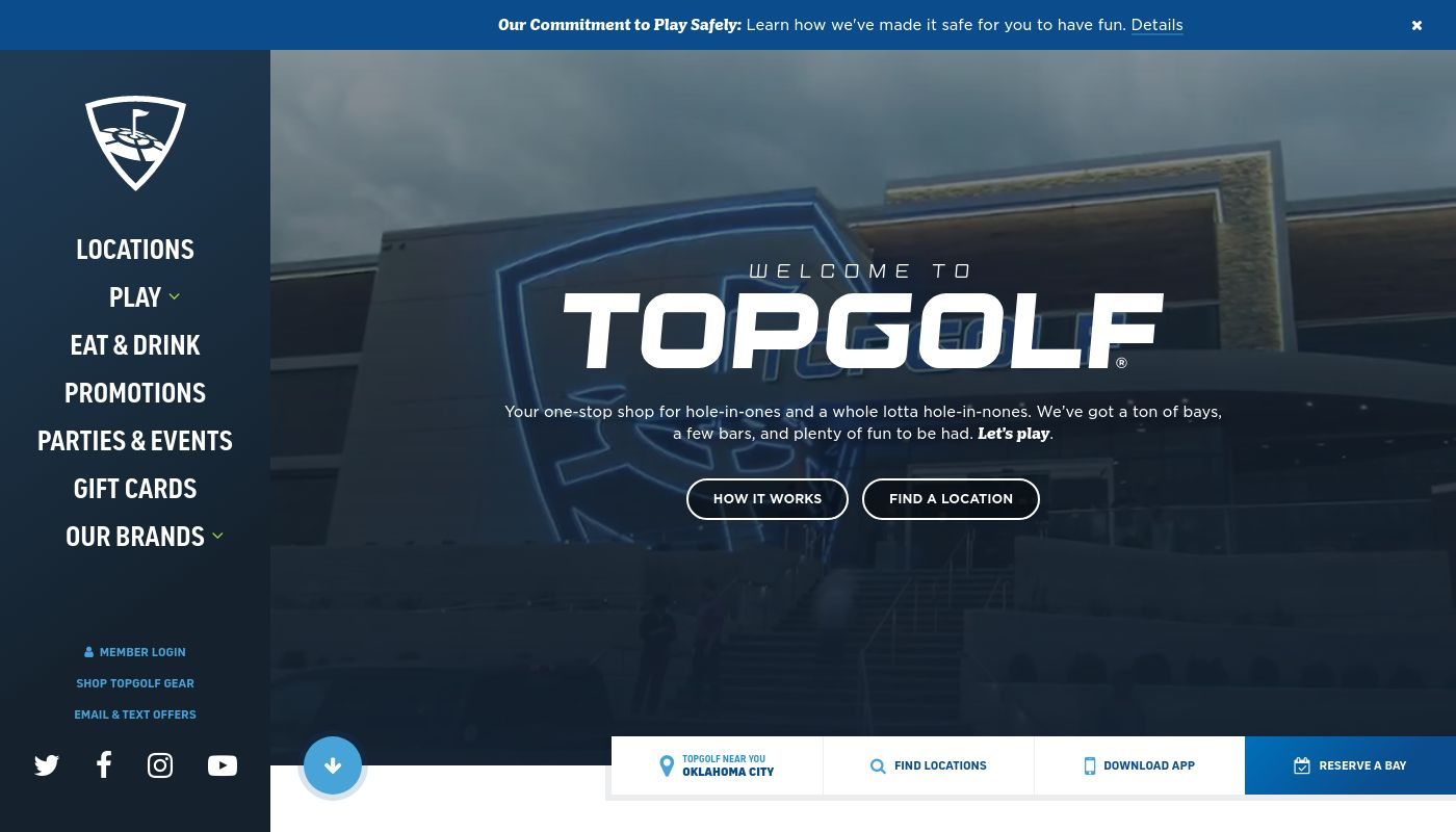 7) Topgolf Entertainment Group