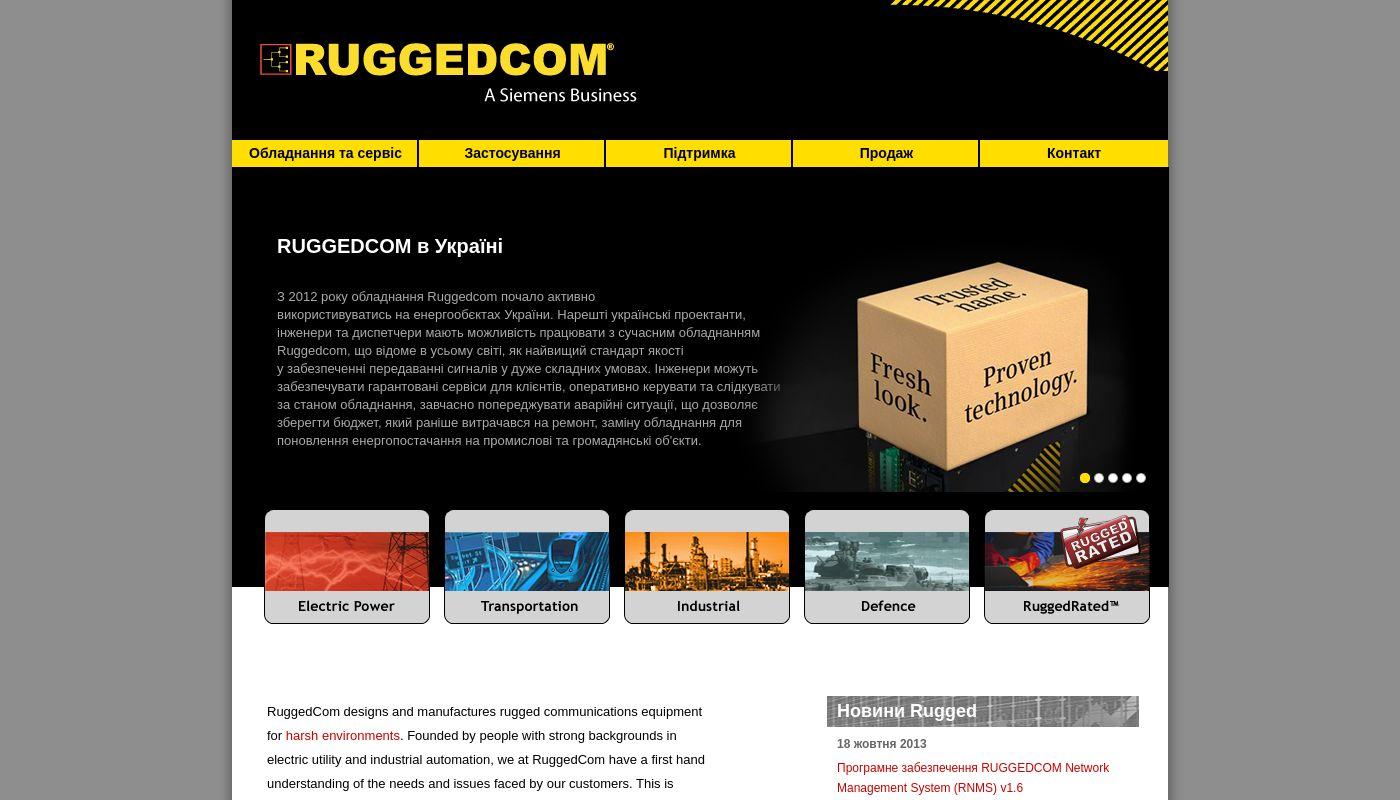 54) RuggedCom