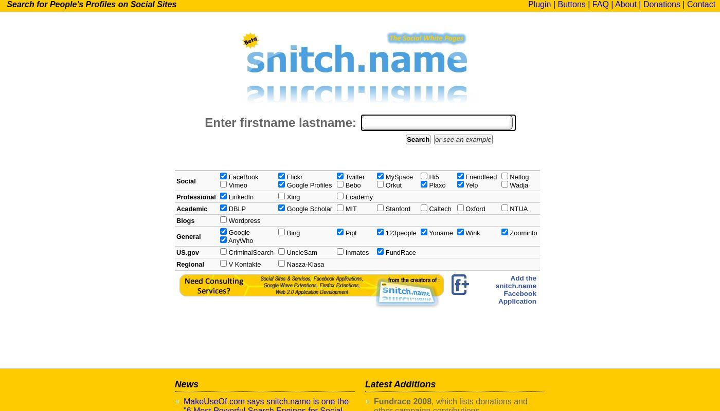 37) Snitch.name