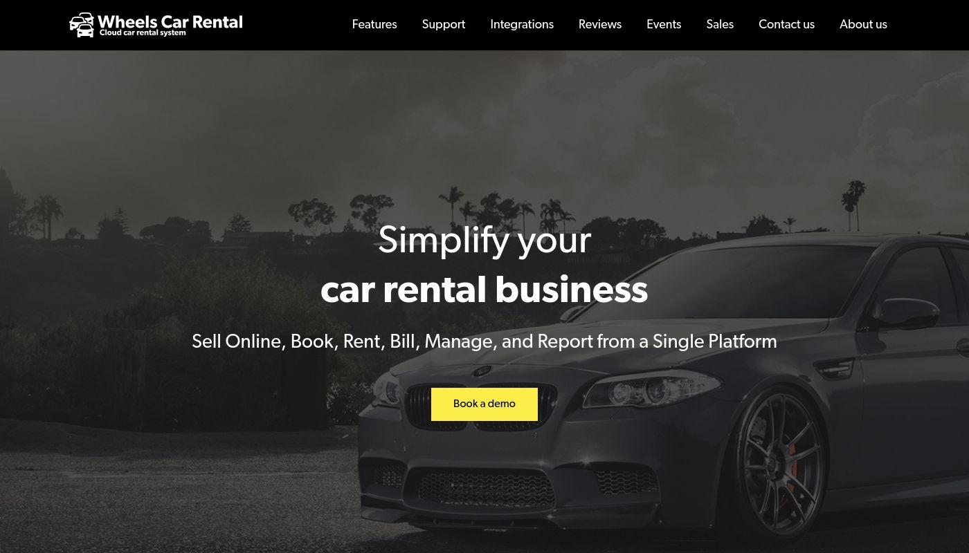 73) Wheels Car Rental System