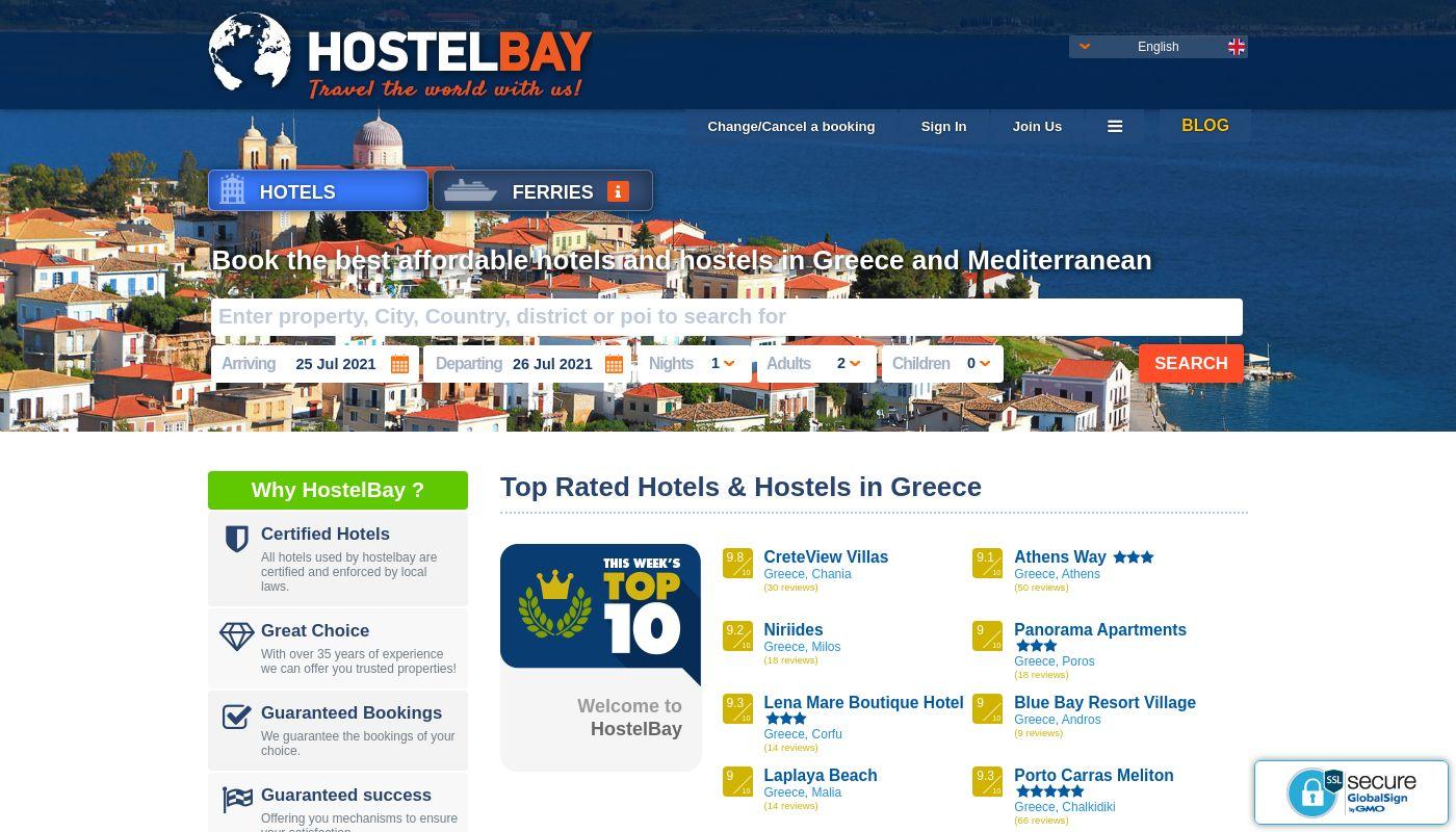 77) Hostelbay