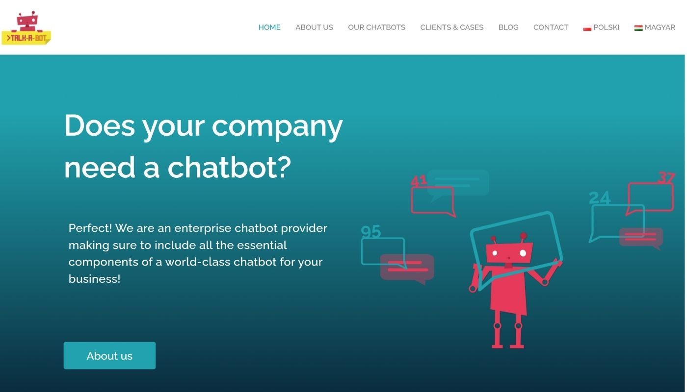 14) Talk-A-Bot