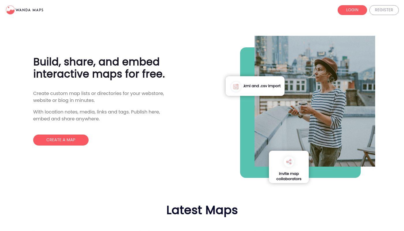 80) Wanda Maps