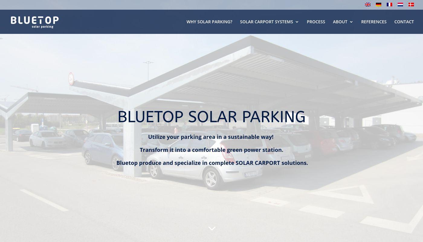 66) Bluetop Solar Parking