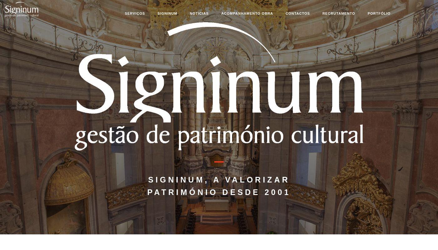 44) Signinum