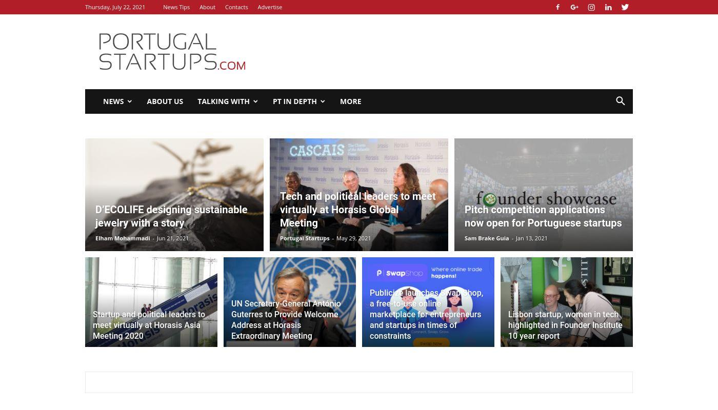 77) PortugalStartups.com