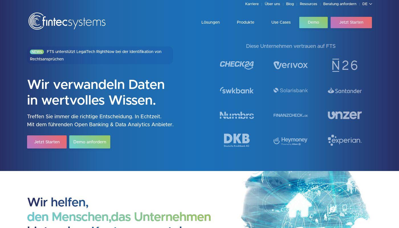 151) FinTecSystems