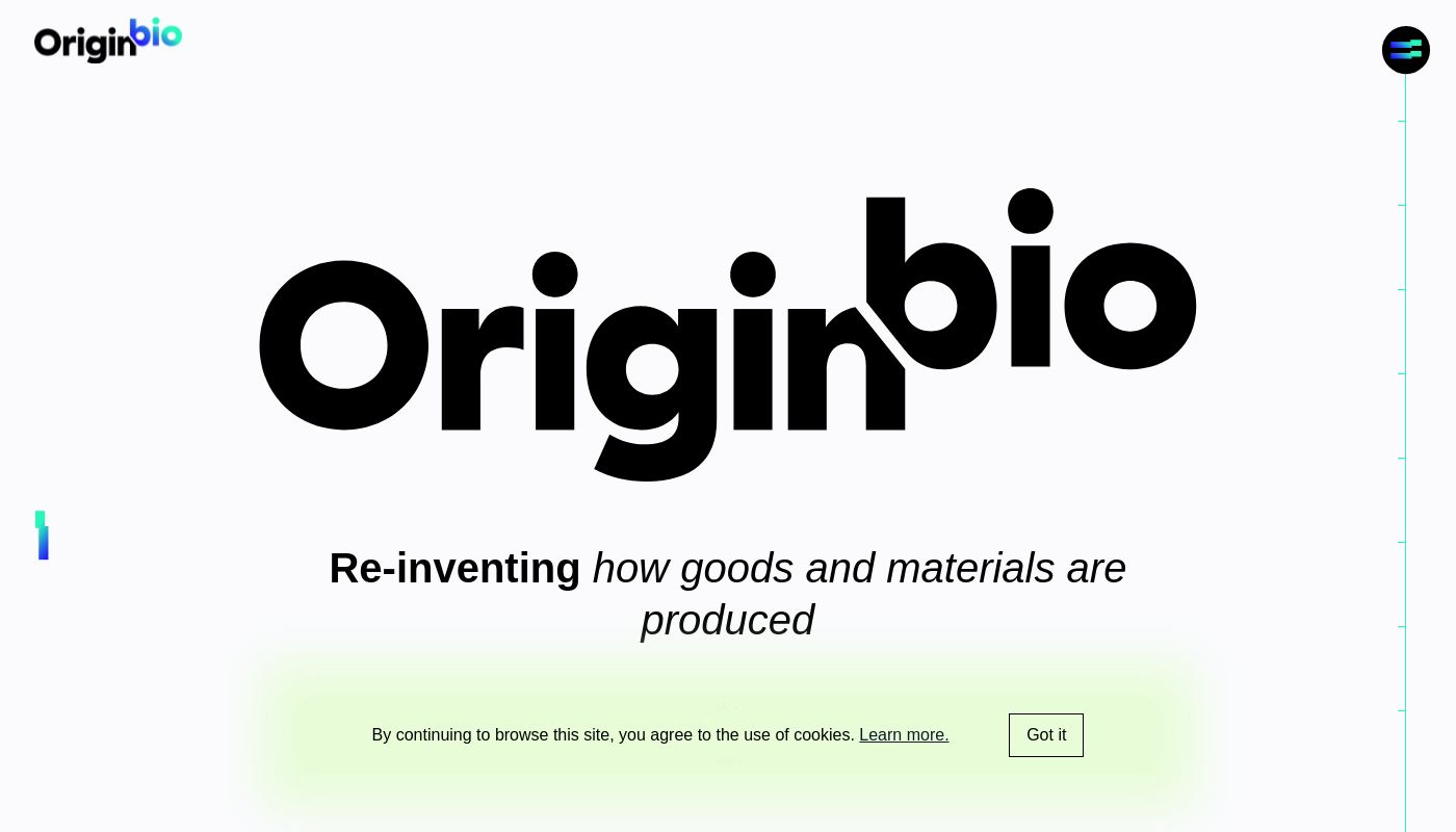 157) Origin.Bio