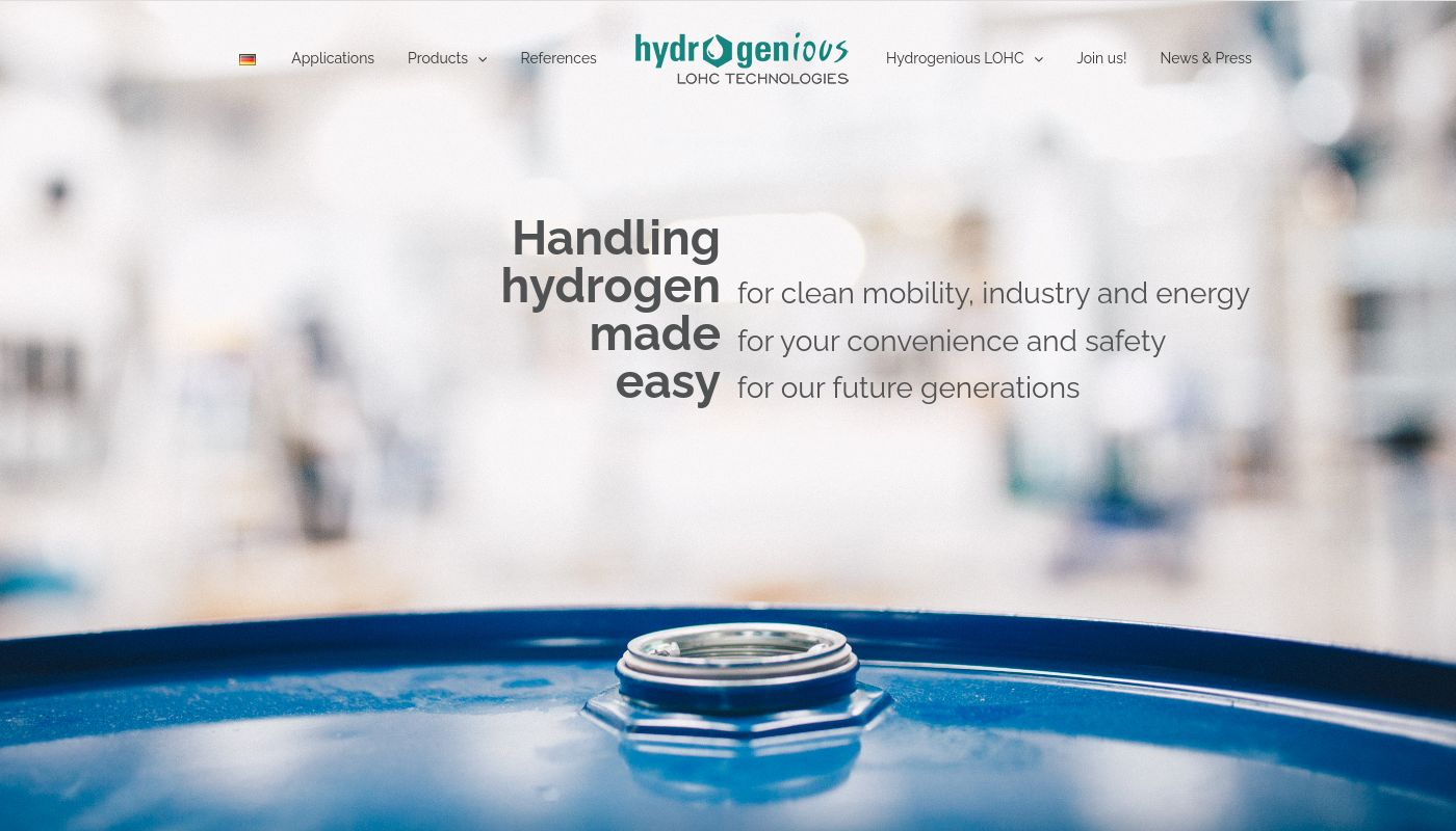 15) Hydrogenious Technologies