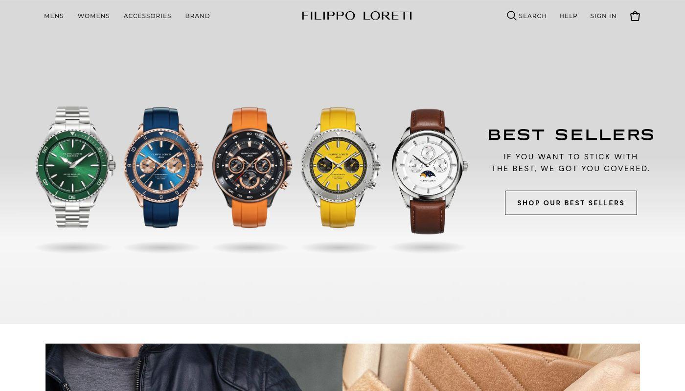 8) Filippo Loreti
