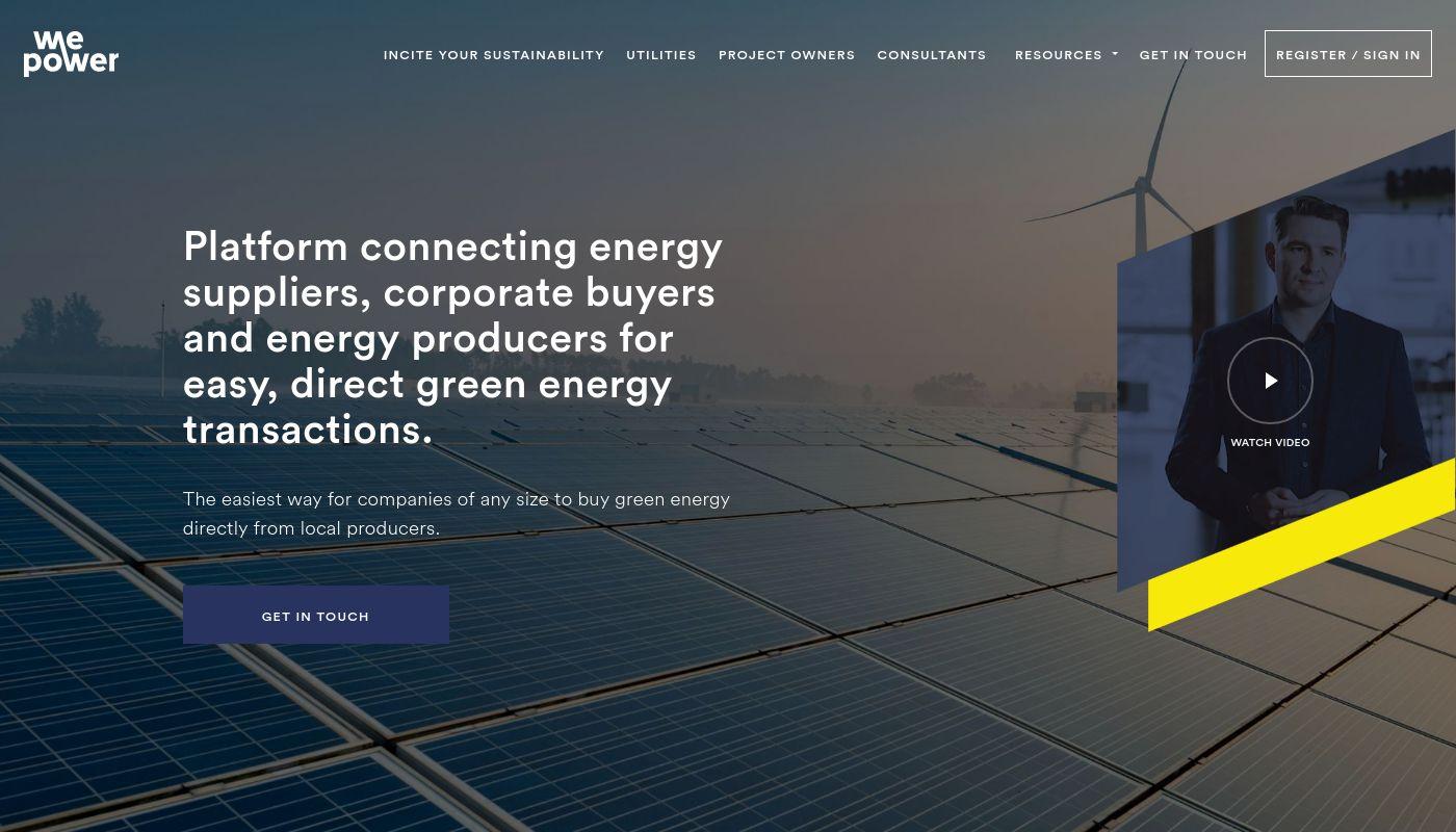 54) WePower Network