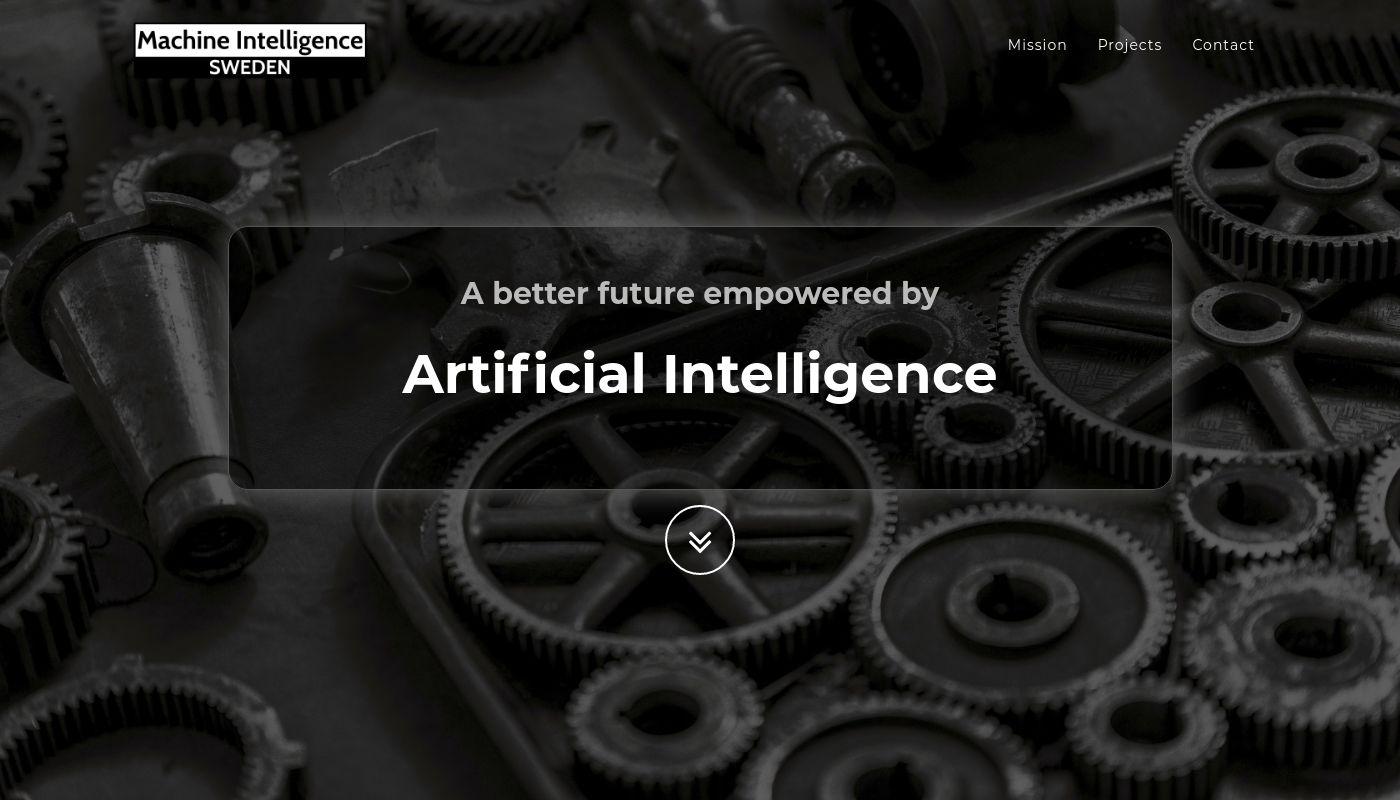 297) Machine Intelligence Sweden