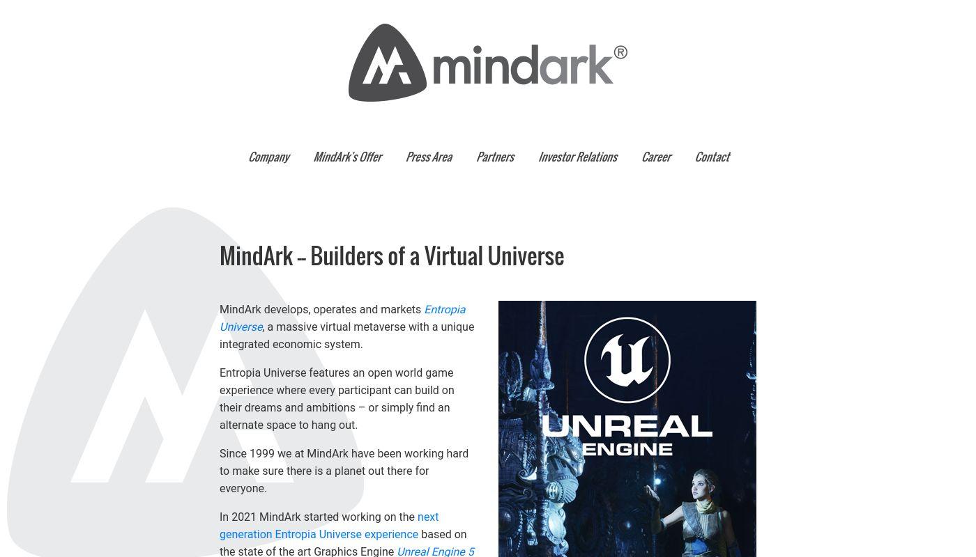 54) MindArk