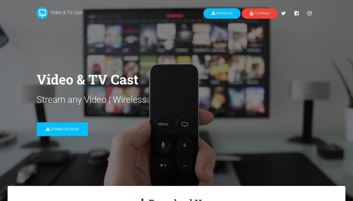 20) Video & TV Cast
