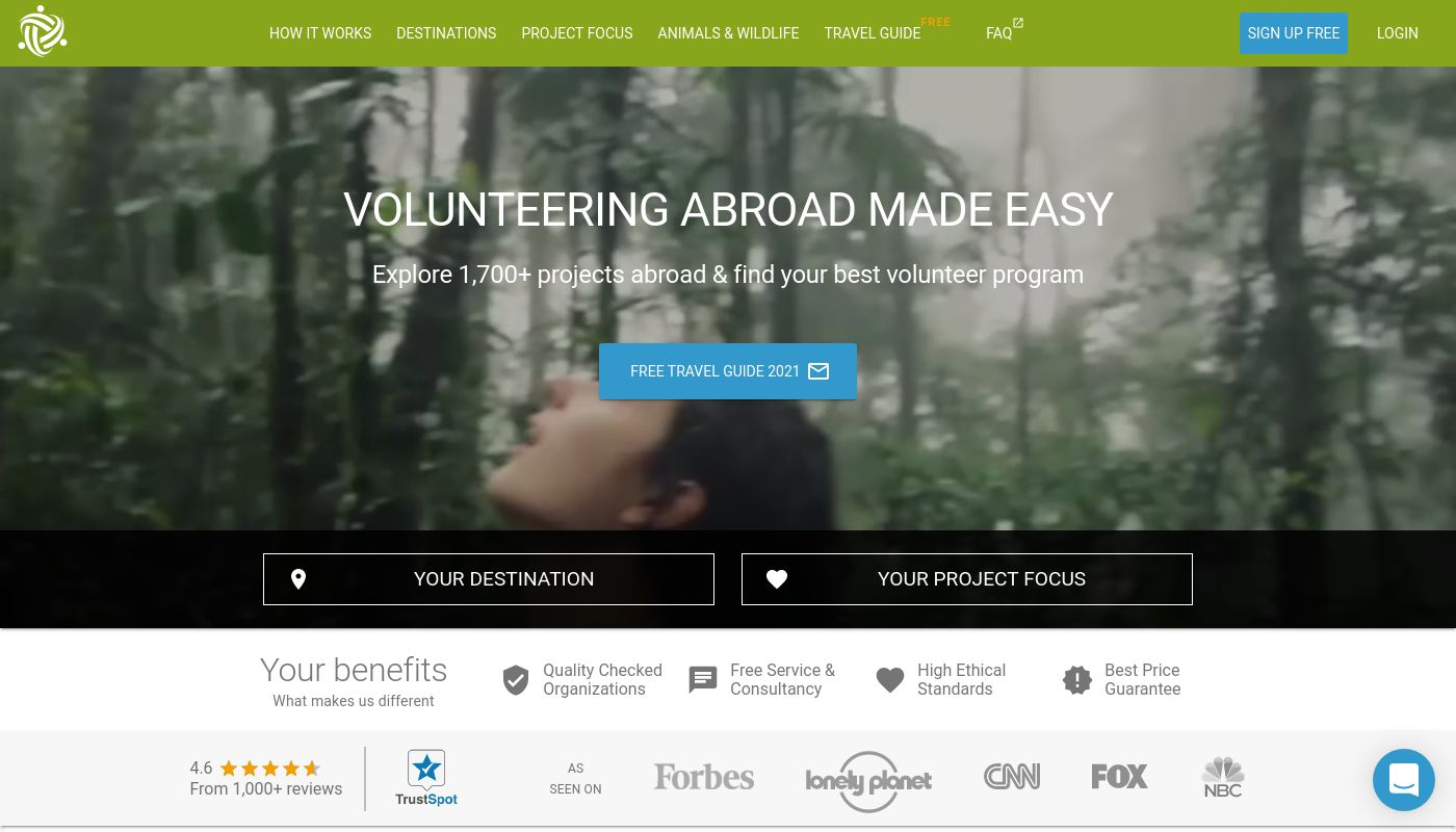 18) Volunteer World