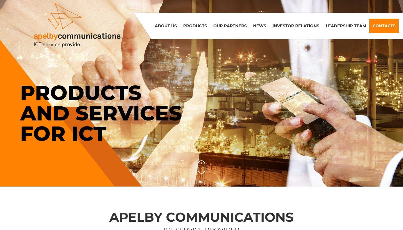 70) Apelby Communications