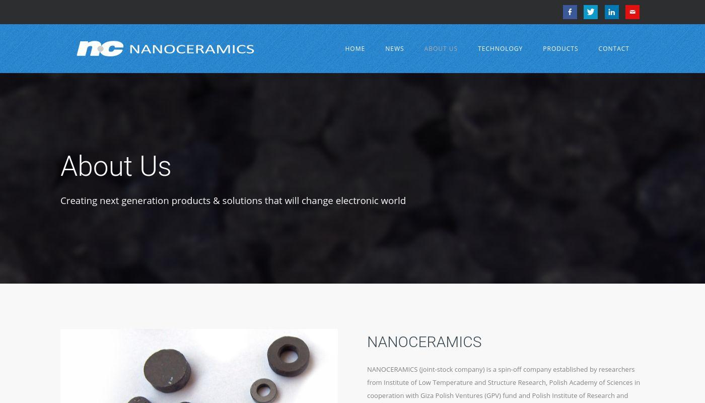 244) Nanoceramics