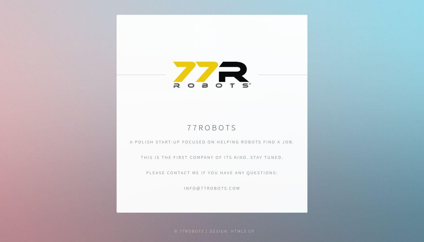 253) 77Robots