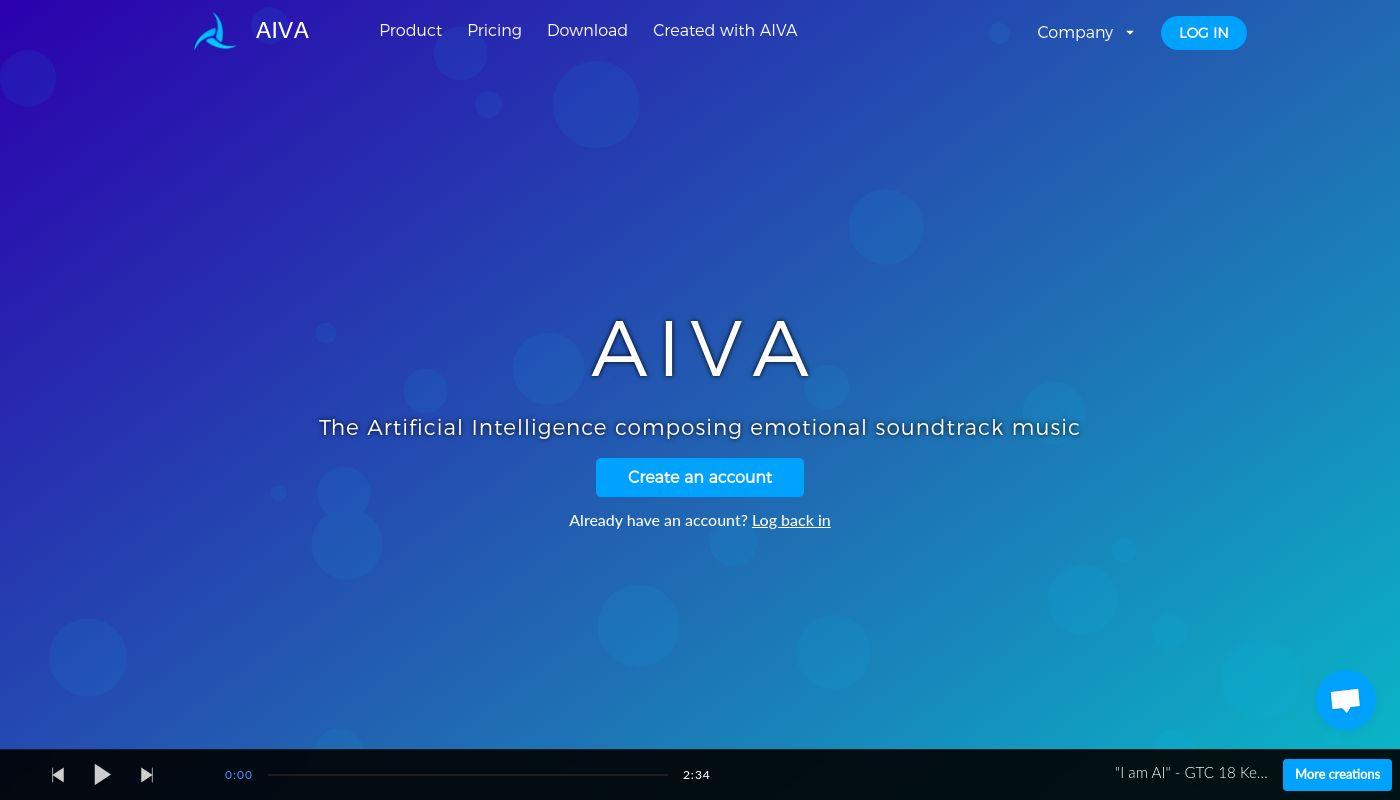 3) Aiva Technologies