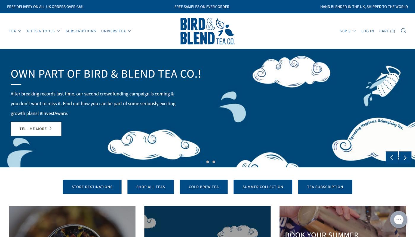 27) Bluebird Tea