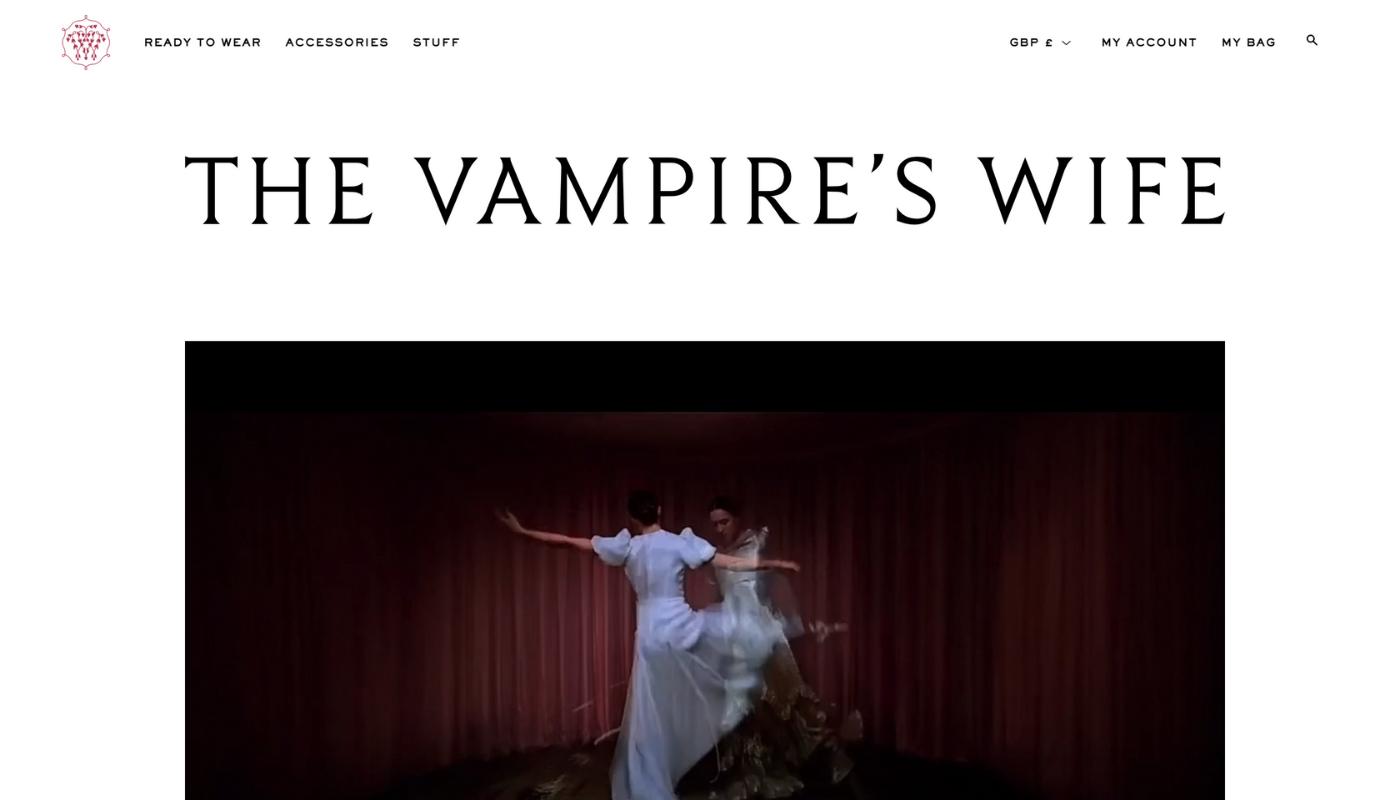 26) The Vampire\'s Wife