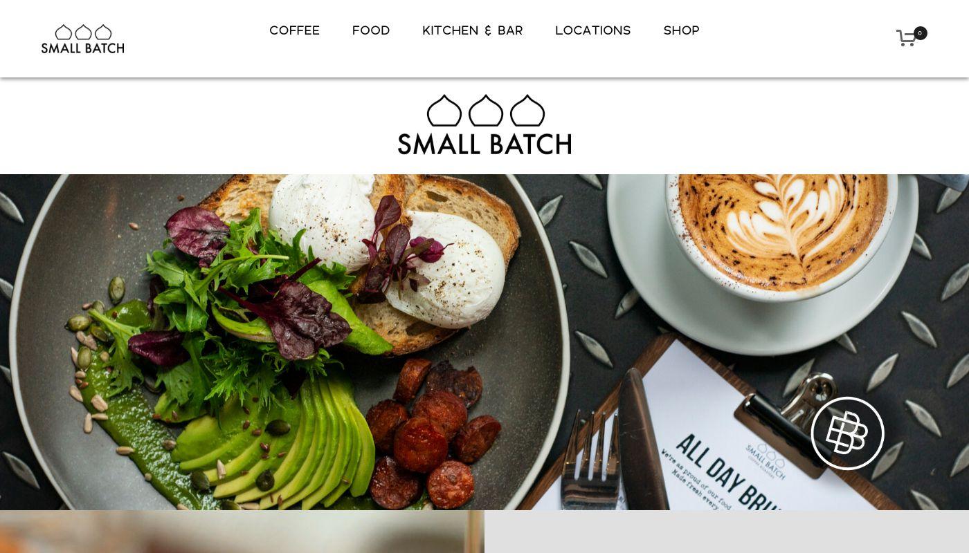 61) Small Batch Coffee