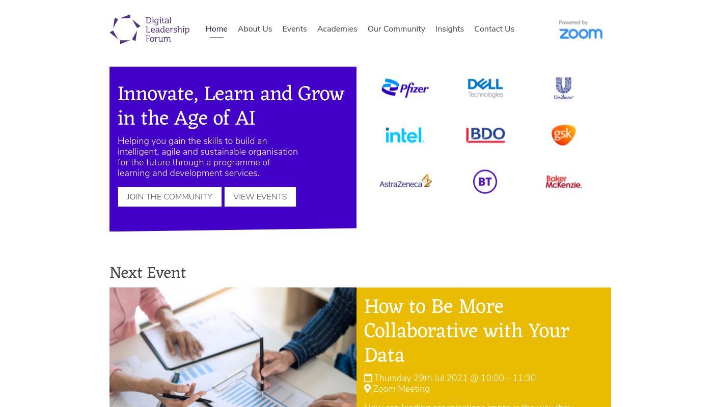 69) Digital Leadership Forum