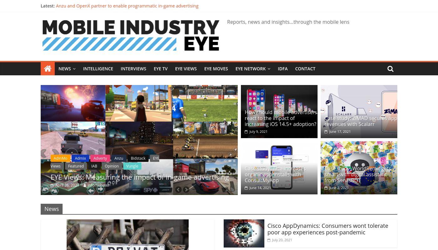 74) Mobile Industry Eye