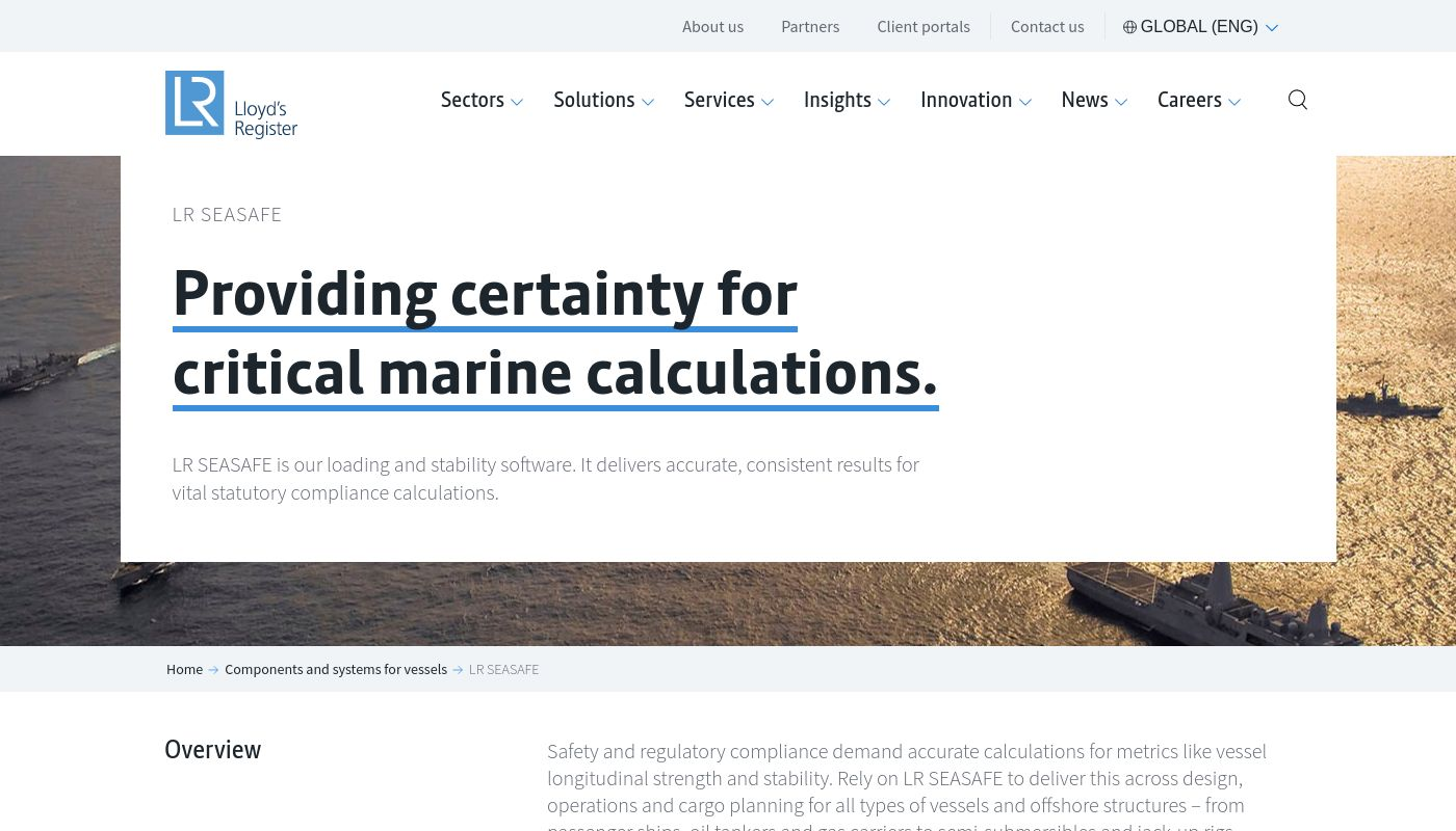 72) Seasafe Marine Software