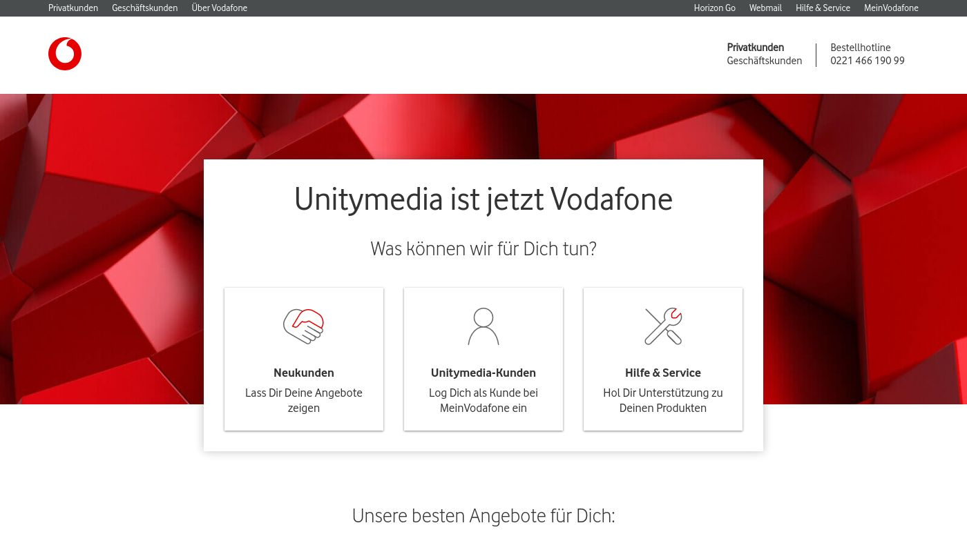 44) Unitymedia