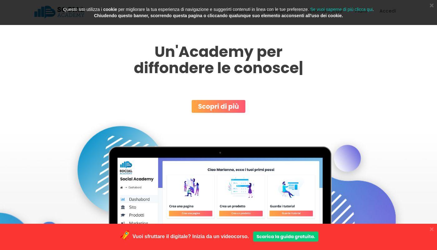 15) Social Academy