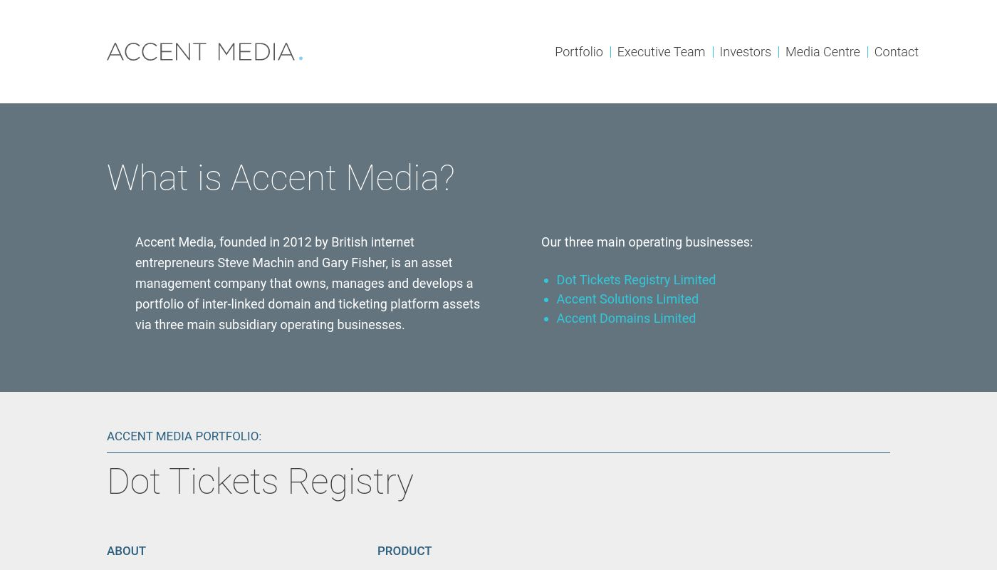 17) Accent Media Limited