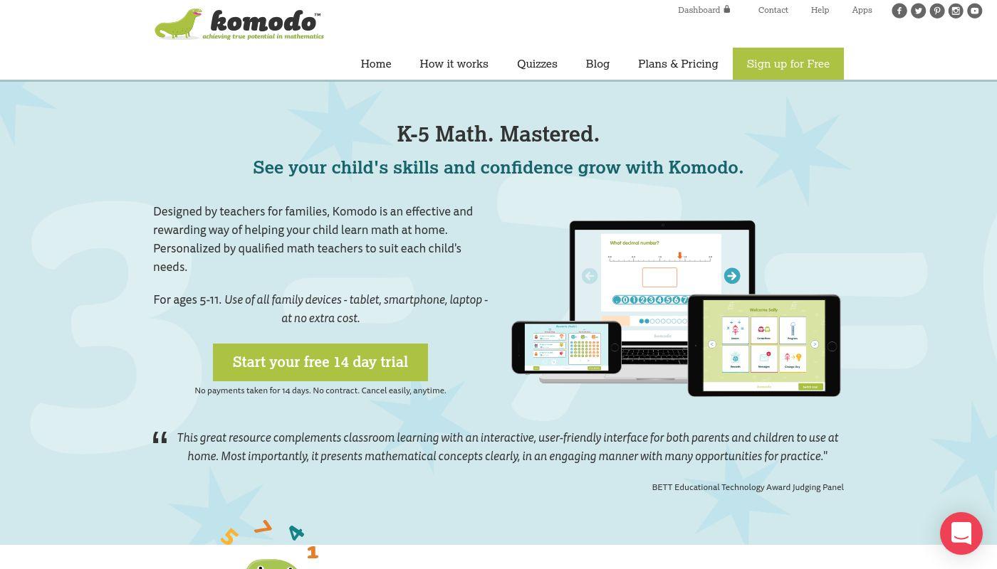 23) Komodo Learning